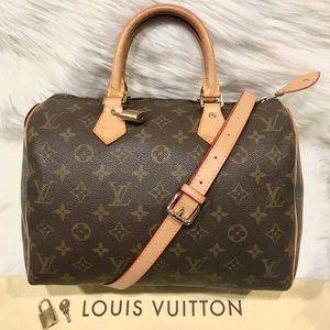 Authentic Louis Vuitton Speedy 30 Tote #9.7P
